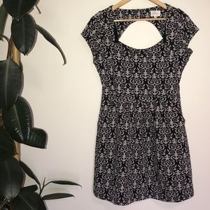Deletta | Anthropologie dress with keyhole back